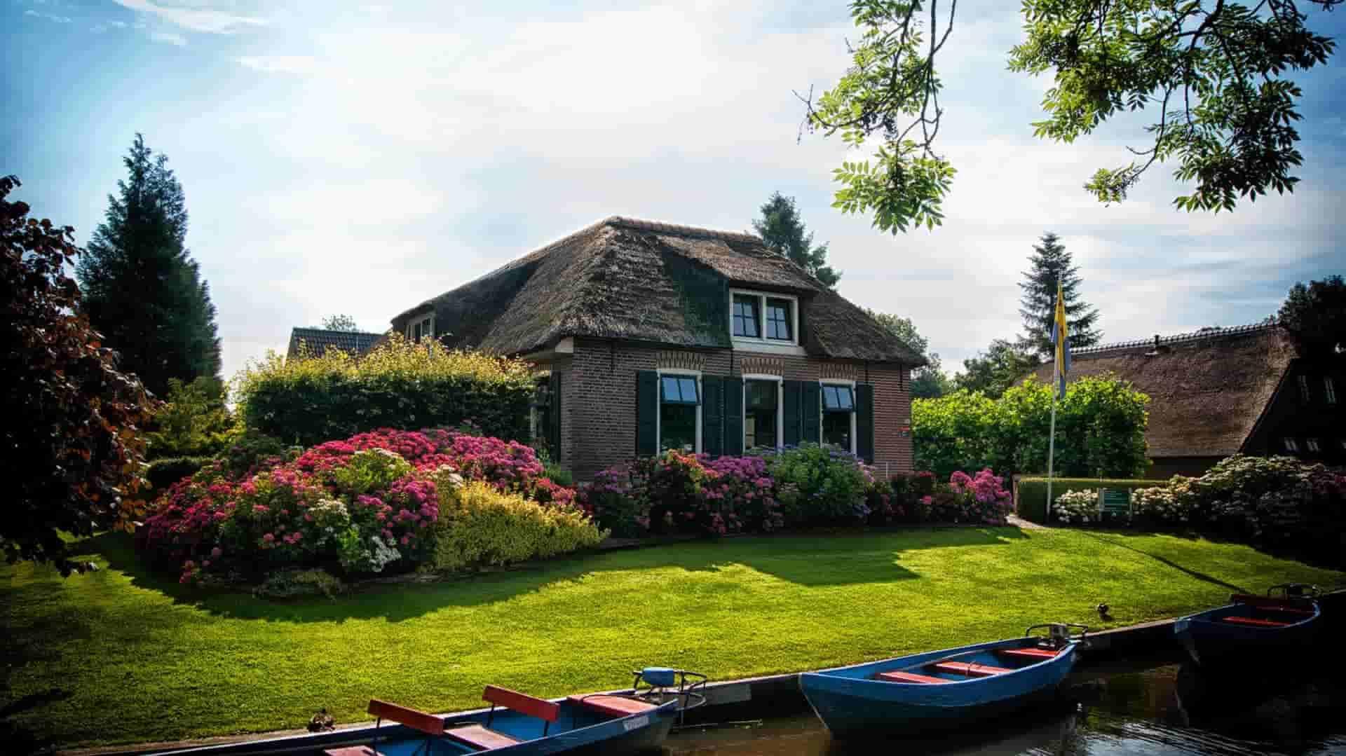 خانه دوست داشتنی در طبیعت