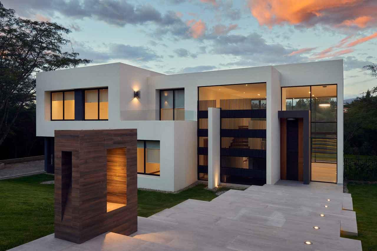 خانه ای رویایی با چشم انداز زیبا